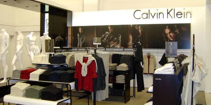 PointISM Calvin-Klein mens clothing shop in shop