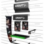 PointISM craft-branded signage slatwall kit