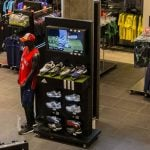 PointISM Adidas lift compare interactive retail display