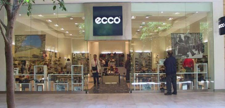 PointISM Ecco Bayview Village retail store design